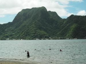 Pago Pago beach