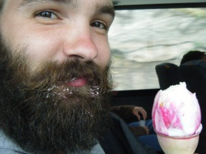 beard ice cream