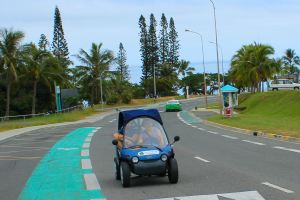 Noumea rented buggy