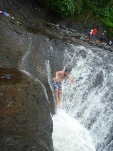Sliding rocks, Apia