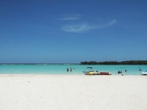 Nice beach at Boca Chica