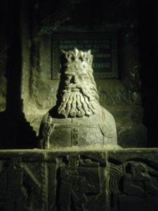 Wielicka-salt-sculpture
